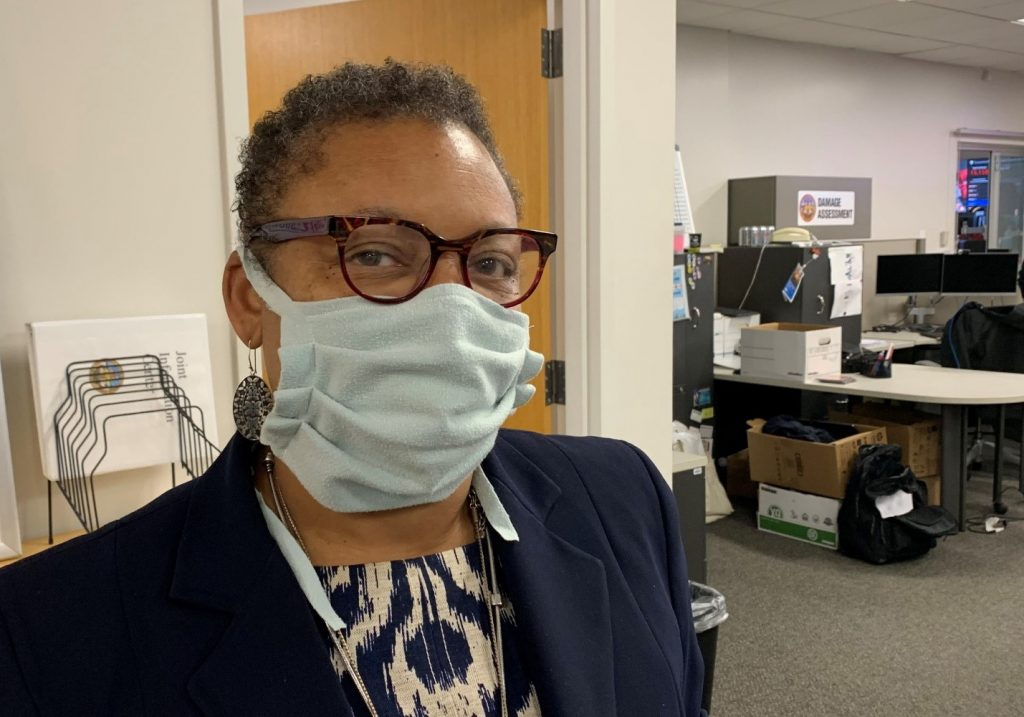 County Public Health Officer Wilma Wooten
