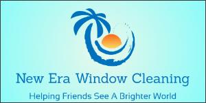 new era window cleaning logo