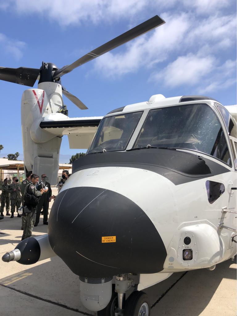 VRM-30 welcome CMV-22B Osprey