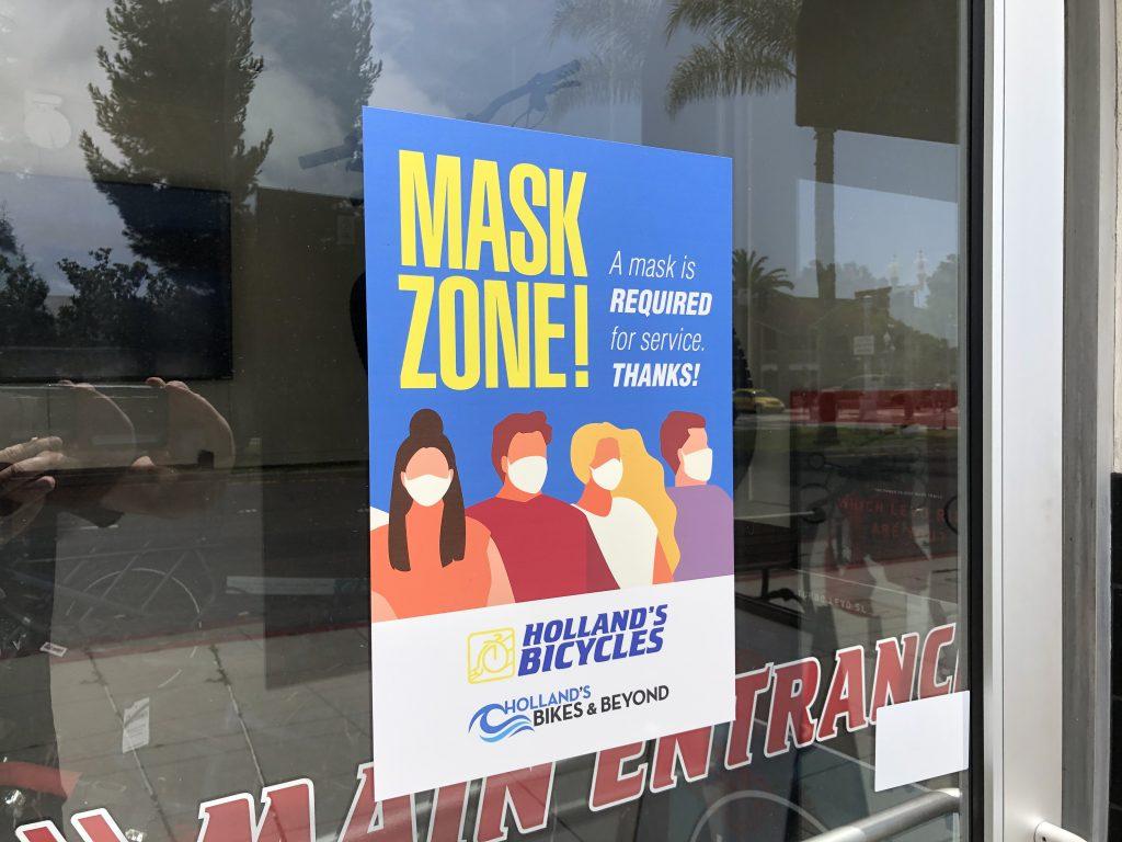 pandemic mask zone