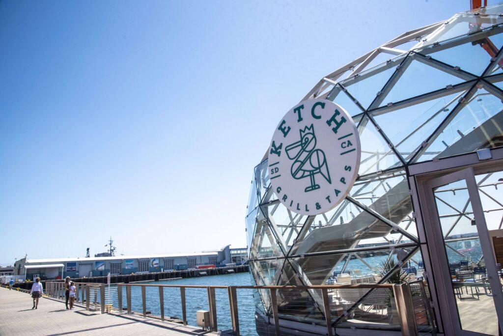 portside pier Ketch