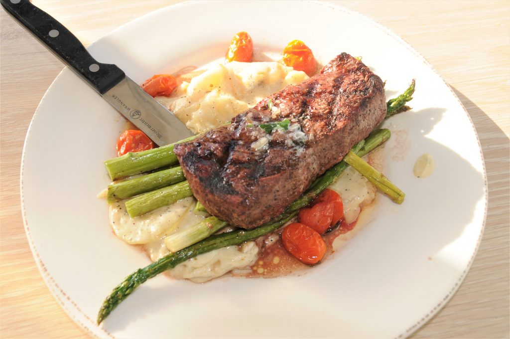 Bluewater Boathouse top sirloin