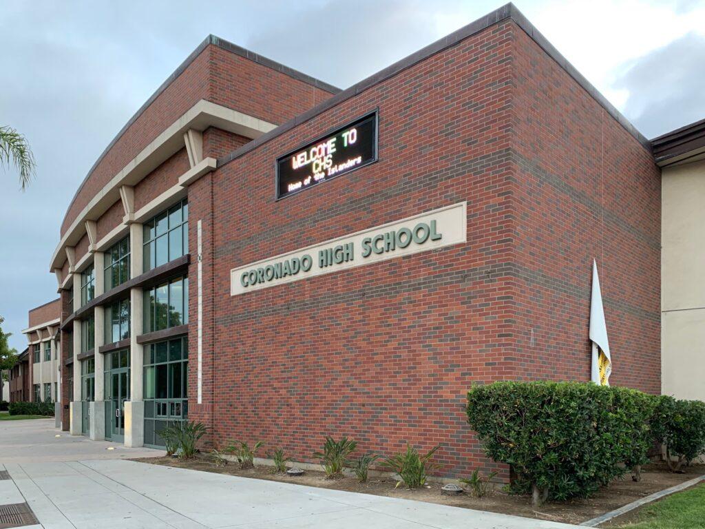 Coronado High School CHS