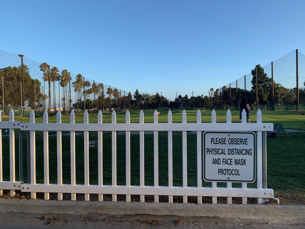 Coronado Golf Course driving range