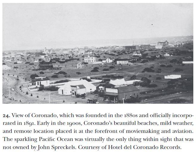 1891 view of Coronado, Empire Builder book