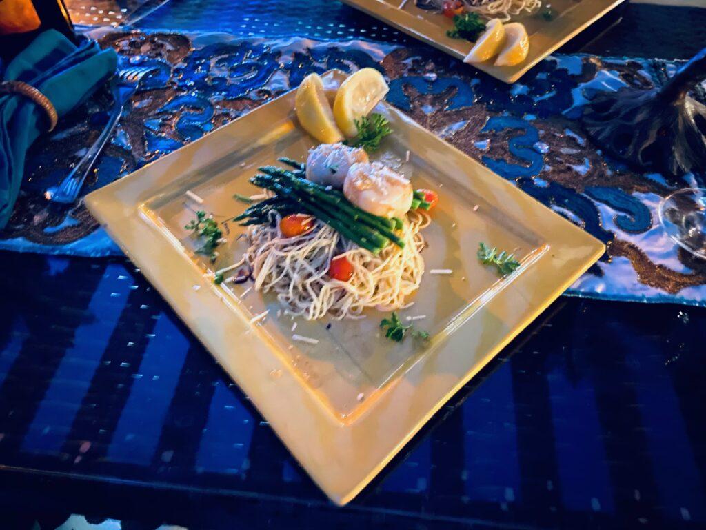 seafood pasta Image: Coronado Times