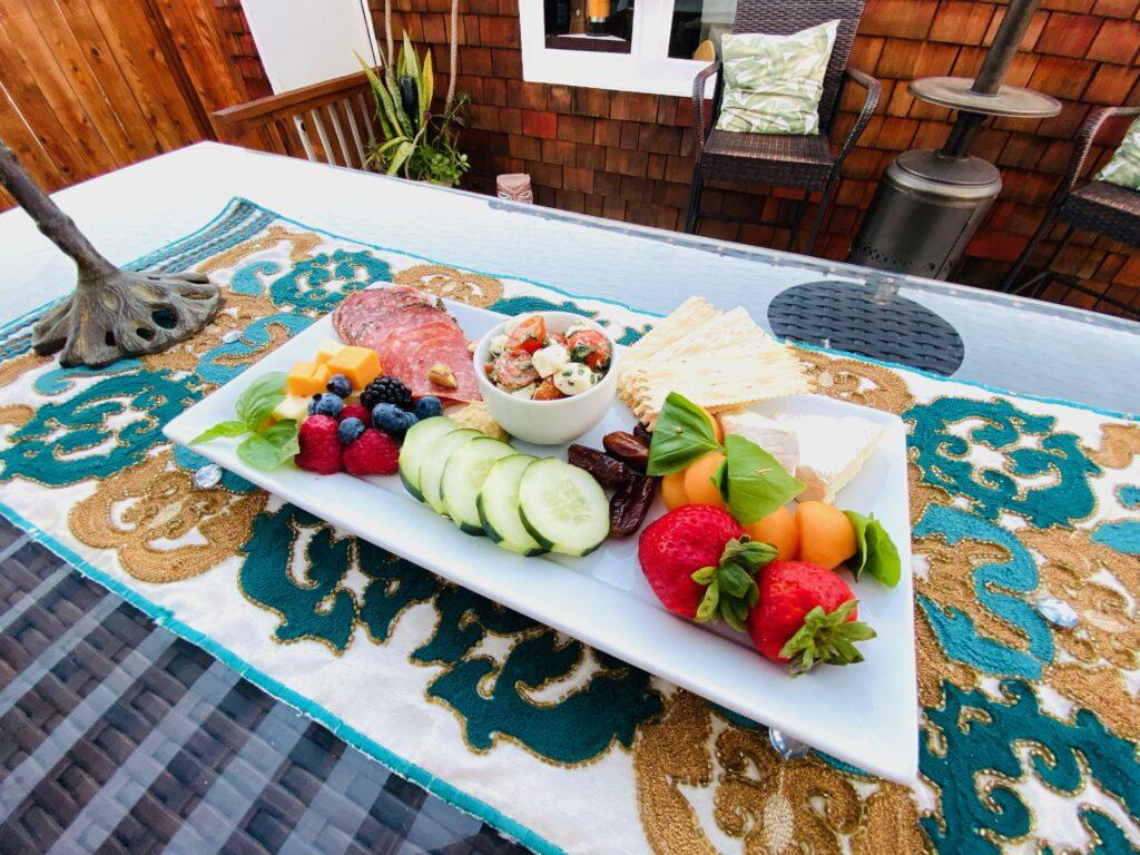 charcuterie plate. Image: Coronado Times