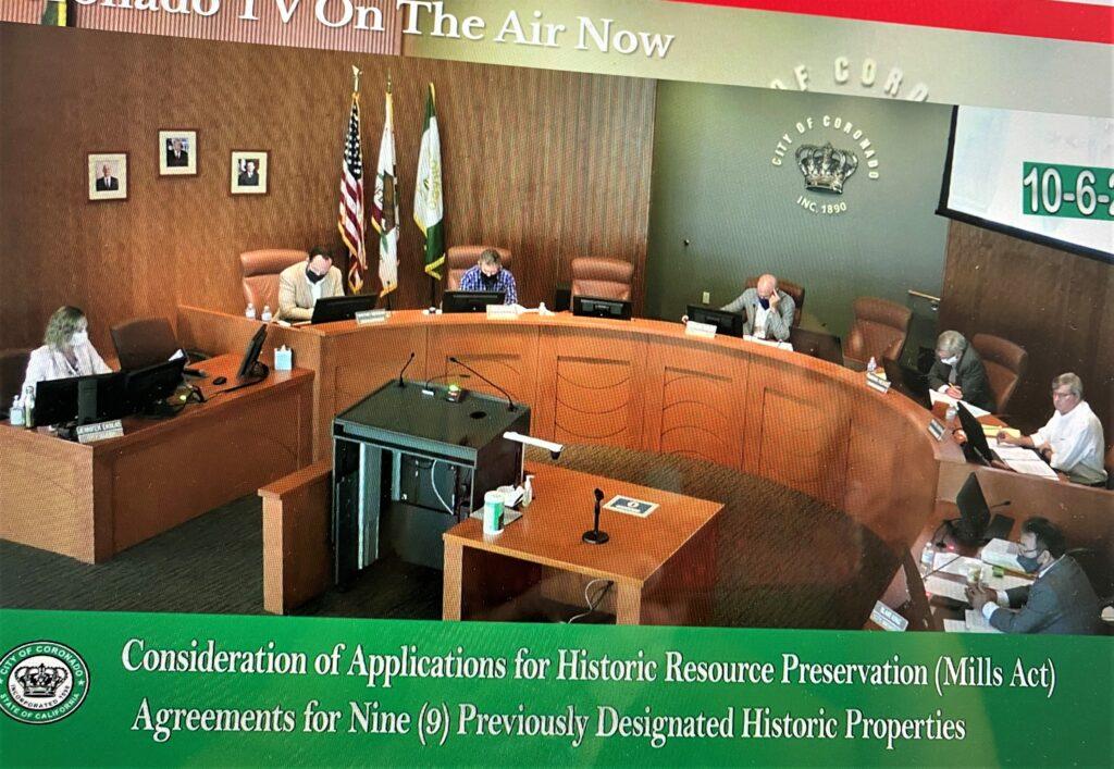 Coronado Orange Halloween 2020 Council Discusses Budget Surplus, Mills Act Homes, Traffic and