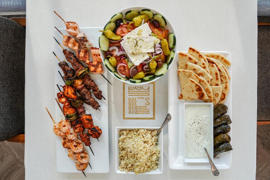 Spiro's La Jolla Greek food Kimberly Motos