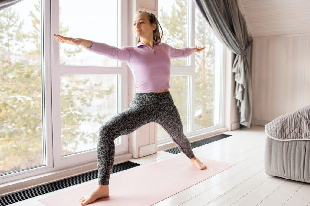 yoga. Image: Pexels