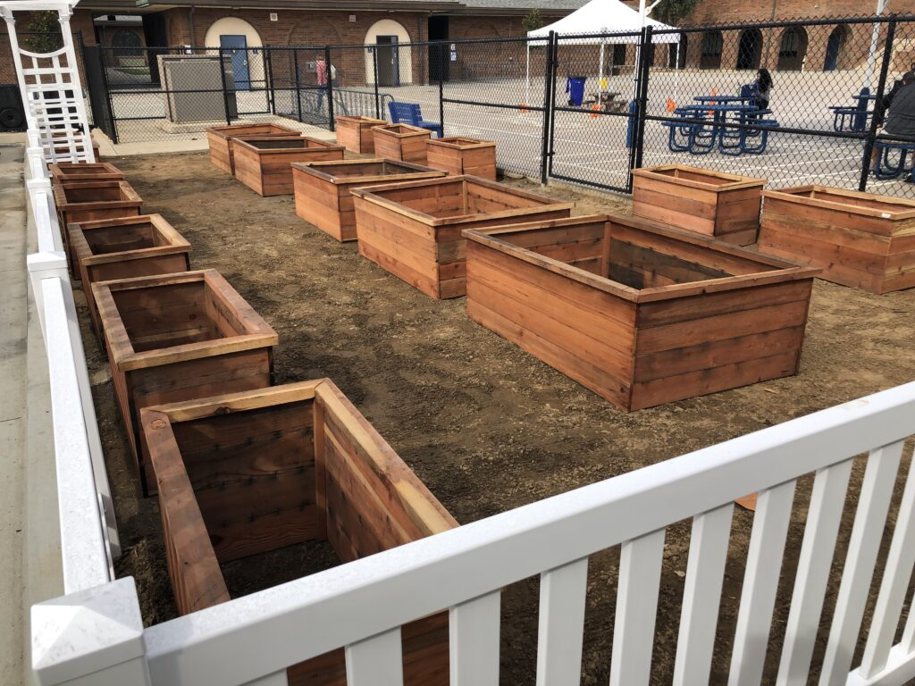 CHS Emerald Keepers Club compost garden