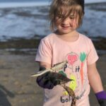 Emerald Keepers beach cleanup