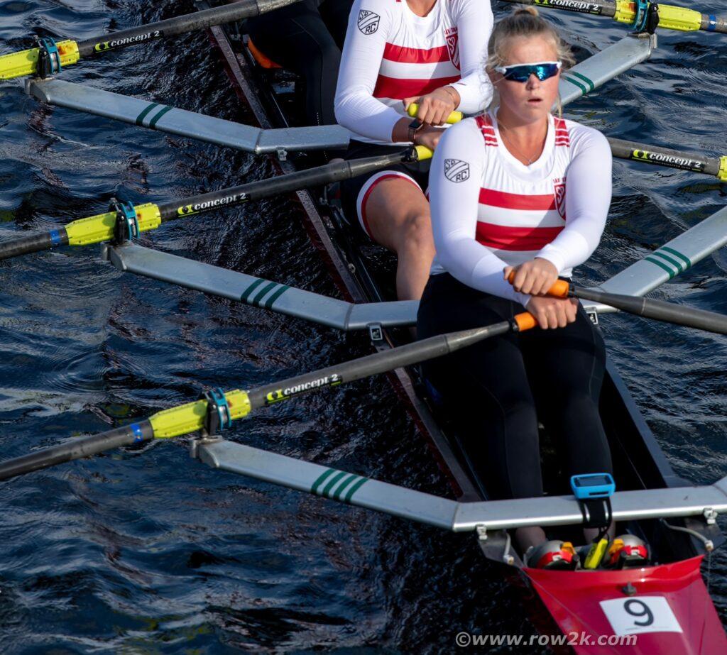 Shannon Hanlon rowing