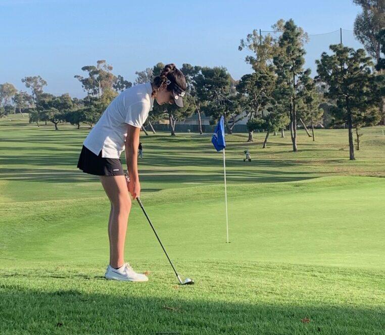 Ines Izuzquiza golf