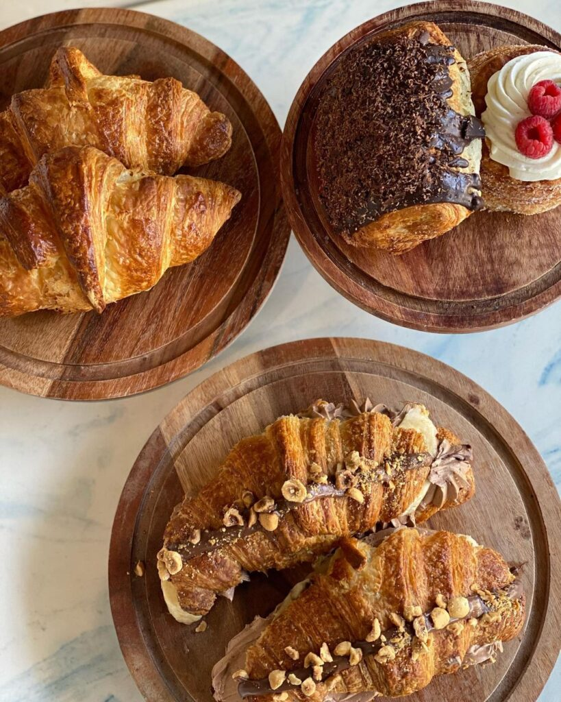 Little Frenchie pastries