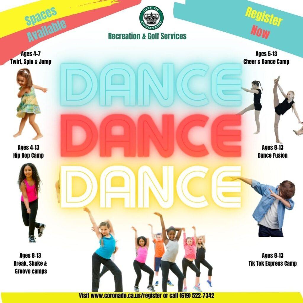 Rec Summer Dance Camps