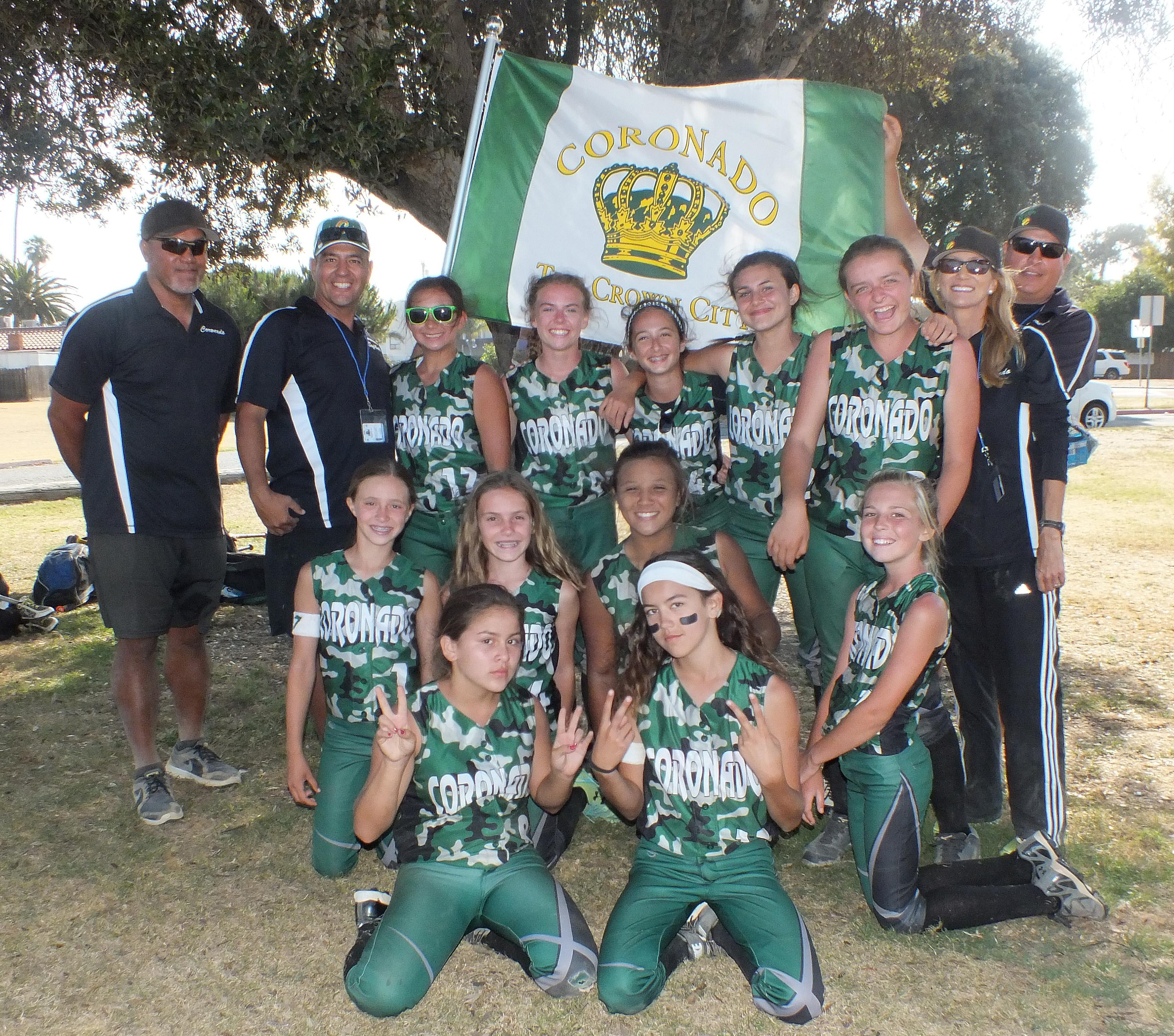 Coronado Youth Softball 12U All Stars Qualify for ASA ...