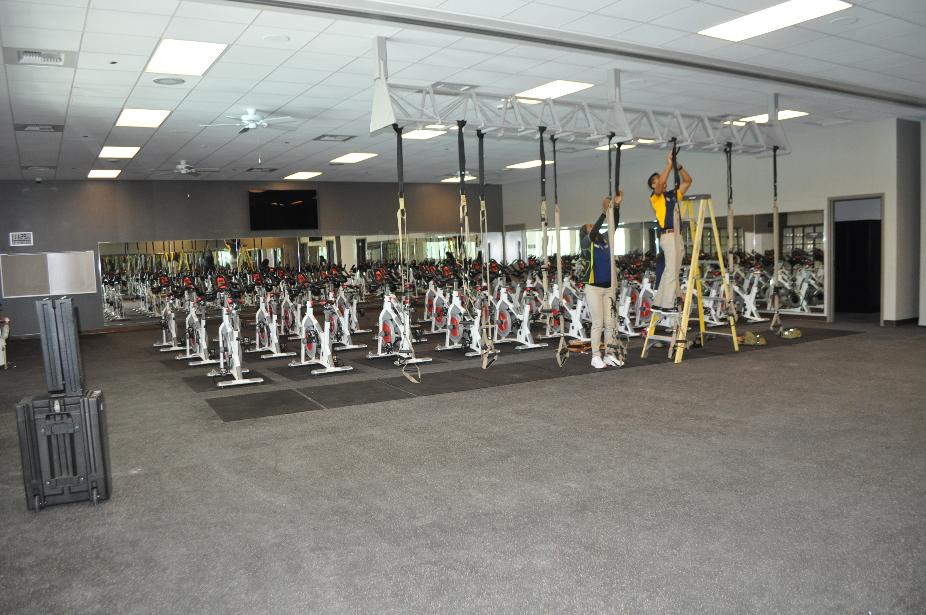 Meeting And Group Exercise Rooms Are Available For Use At The New Facility