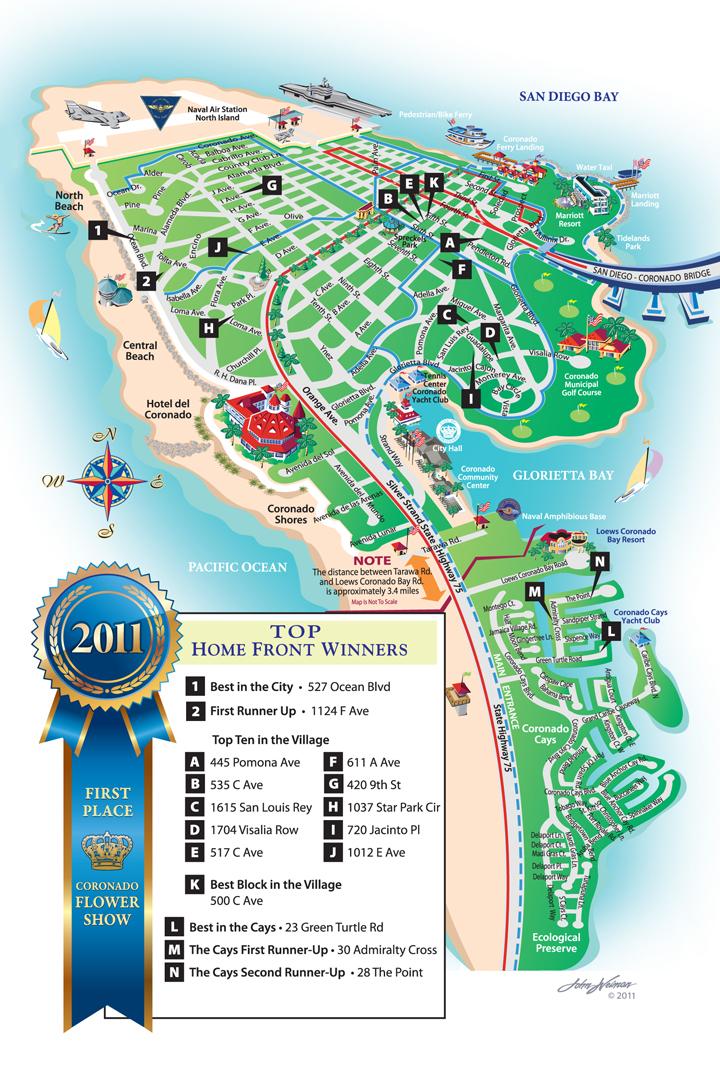 2011 Top Gardens in Coronado - Home Front Judging Results   Coronado ...