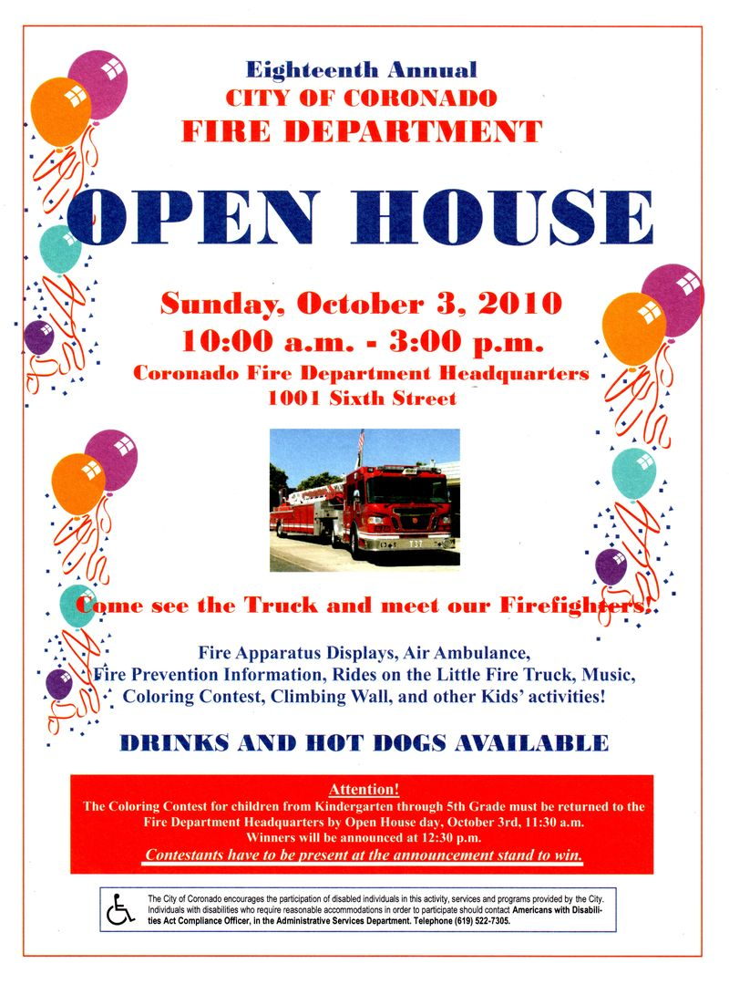 Invitation To Open House Sample Letter