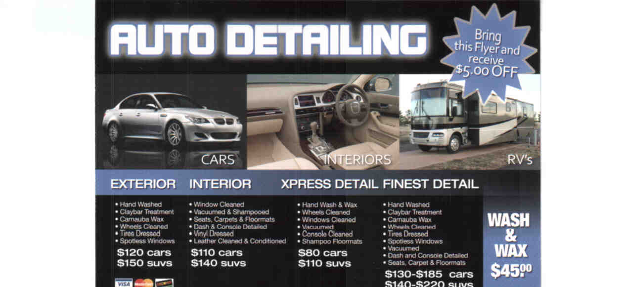 Car House Auto Detailing Services