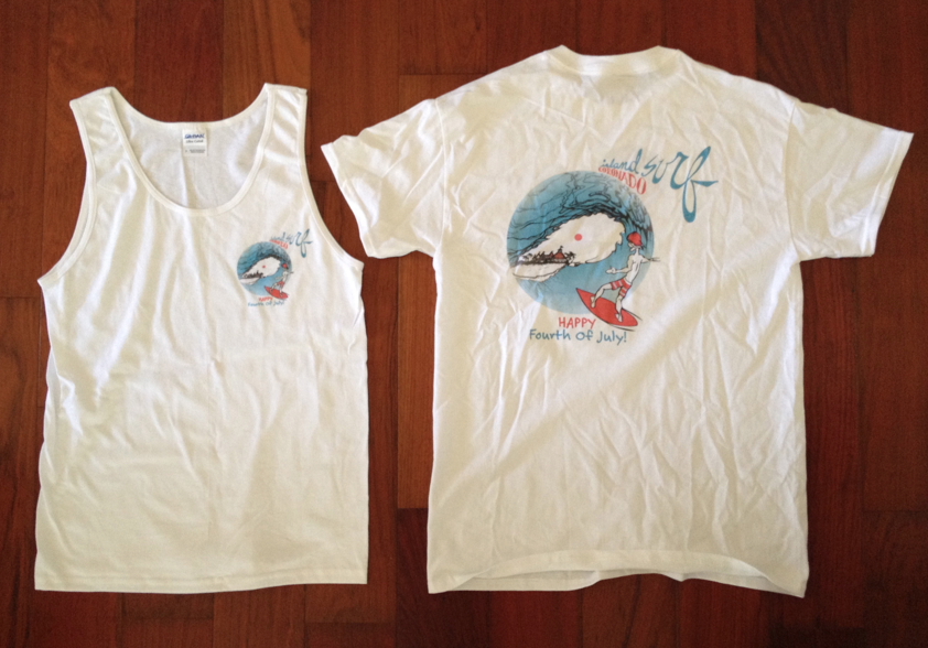 Coronado 4th of July Shirts Now Available - Surfers, Seals