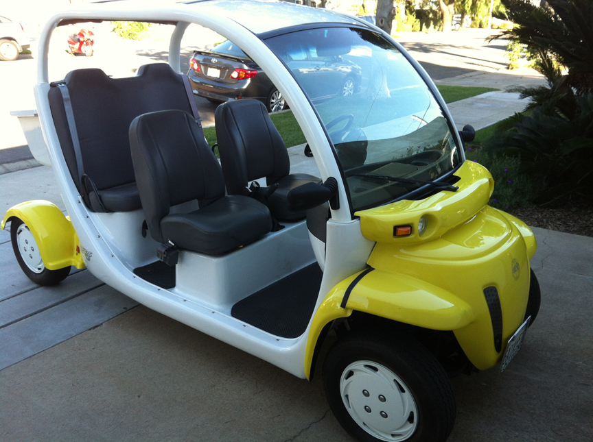 2002 Gem Electric Car Model E825 With Four Seats Excellent Condition Garage Kept Low Mileage Street Legal All New Batteries Installed In April Of 2017