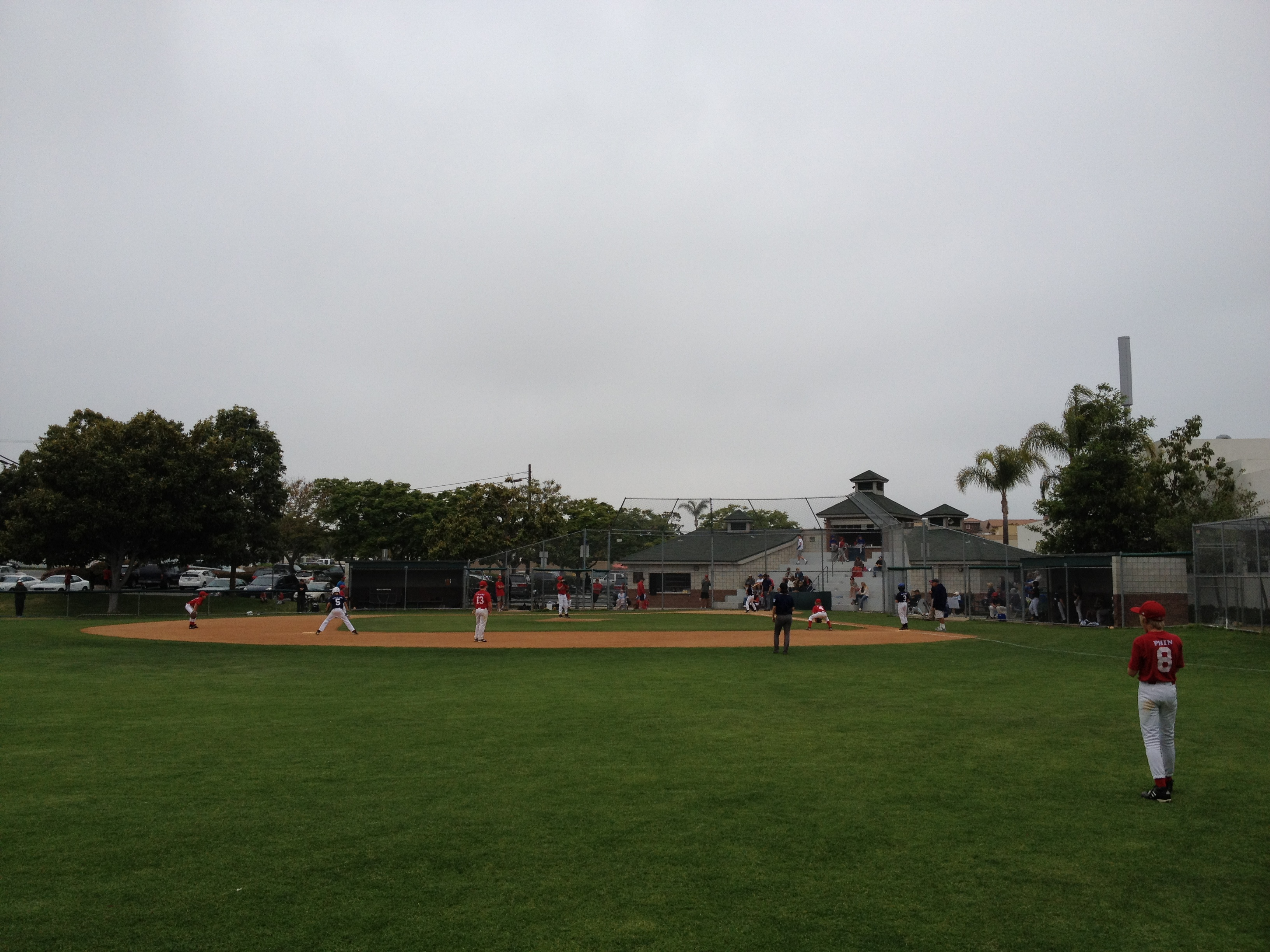 Coronado Little League Field - Spring Fun!