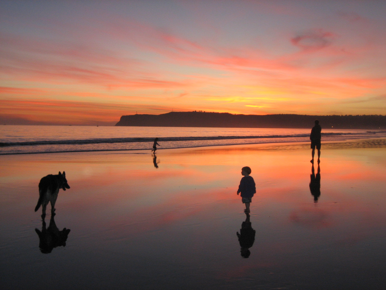 sunset at dog beach 1 | coronado times
